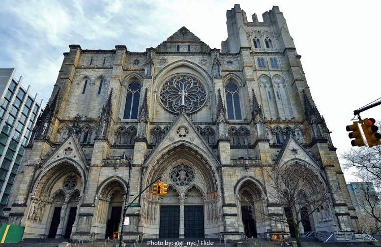 Cathedral of St John the Divine facade