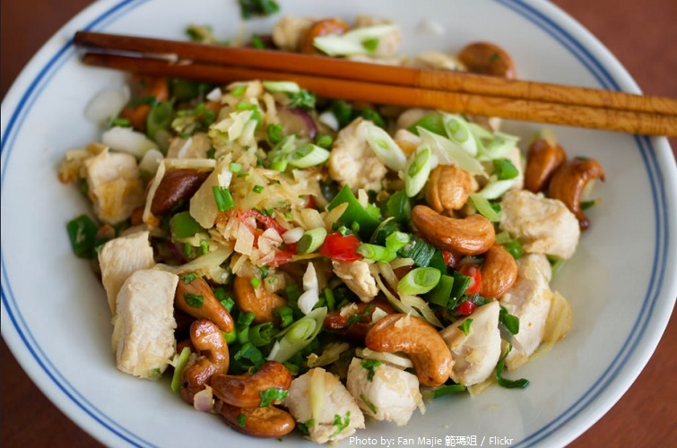 chicken and cashew