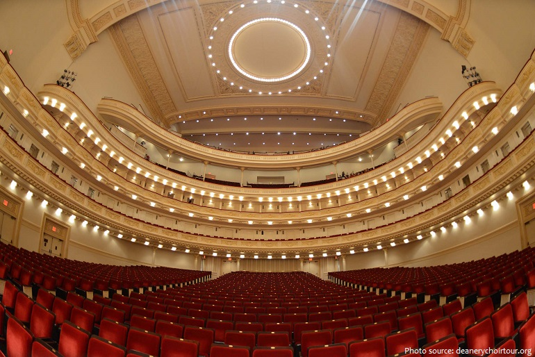 carnegie hall the main hall