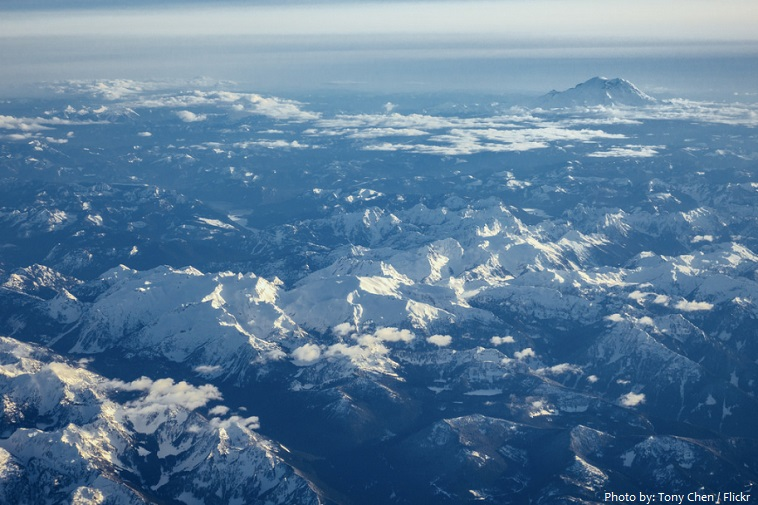 cascade mountains height images