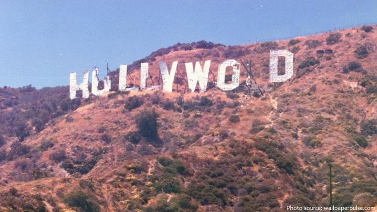 hollywood sign damaged