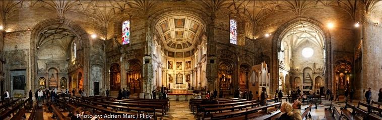 jerónimos monastery interior