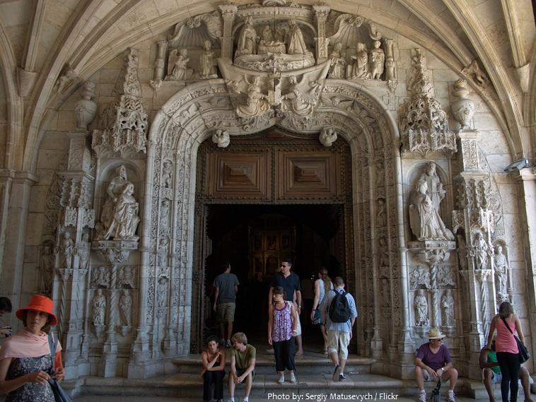 jerónimos monastery west portal