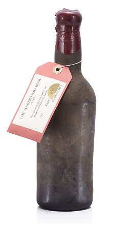 oldest rum bottle
