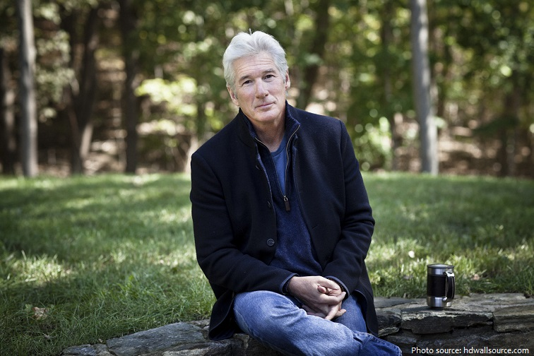 10/6/2011 - Bedford, New York. American actor Richard Gere photographed in Bedford, New York. Chad Batka for The New York Times.