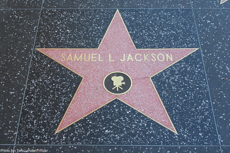 samuel l. jackson star hollywood walk of fame