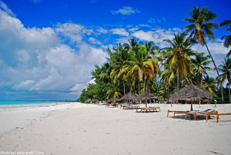 tanzania beach
