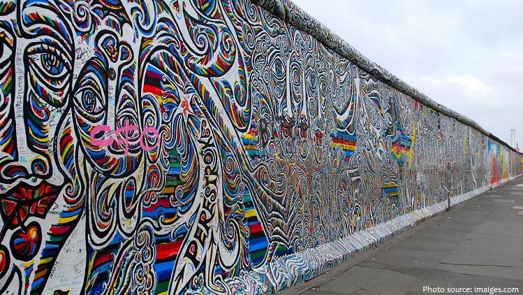 Captivating Berlin Wall