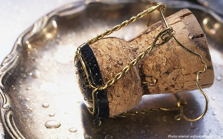 champagne muselet and cork