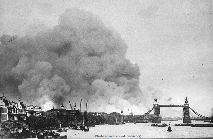 london world war II
