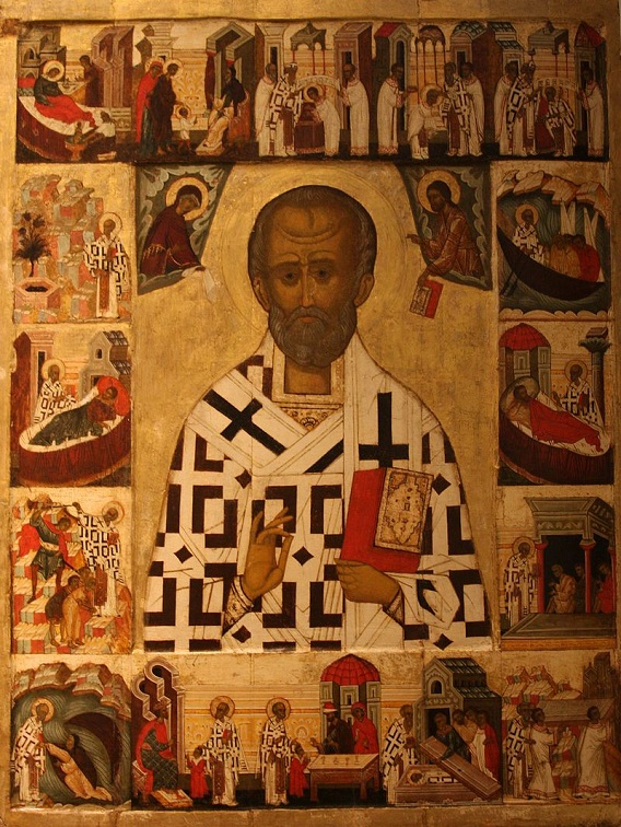 saint nicholas icons