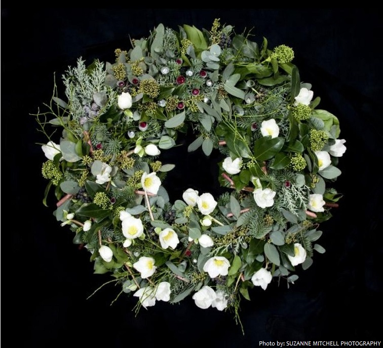 the most expensive Christmas wreath in the world