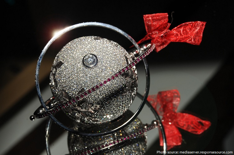the worlds most expensive Christmas bauble