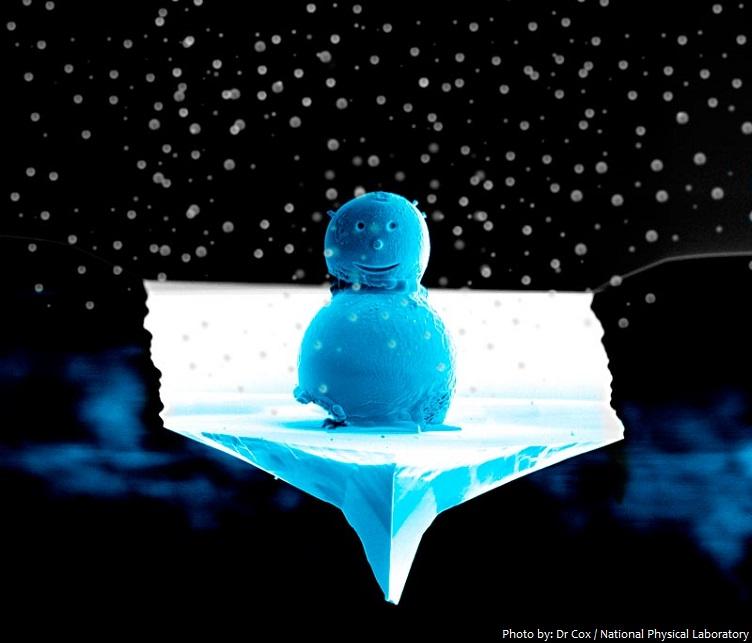 world's smallest snowman