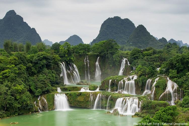 ban gioc - dtian falls