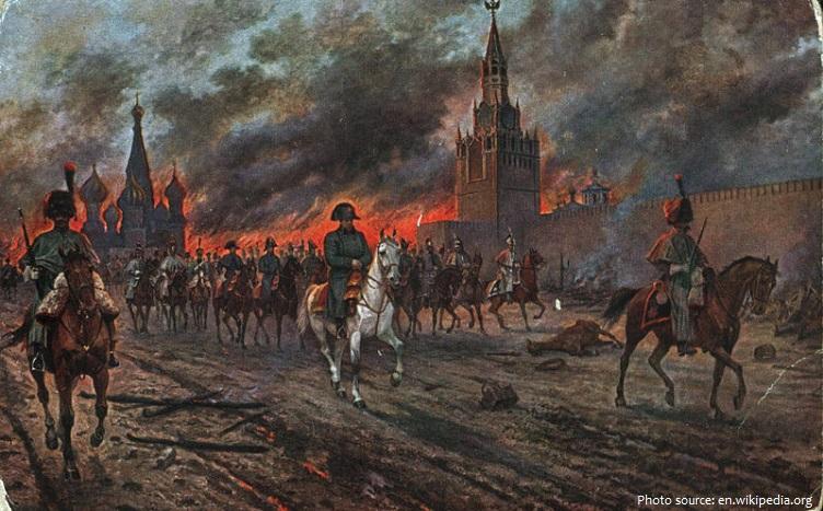 moscow kremlin napoleon