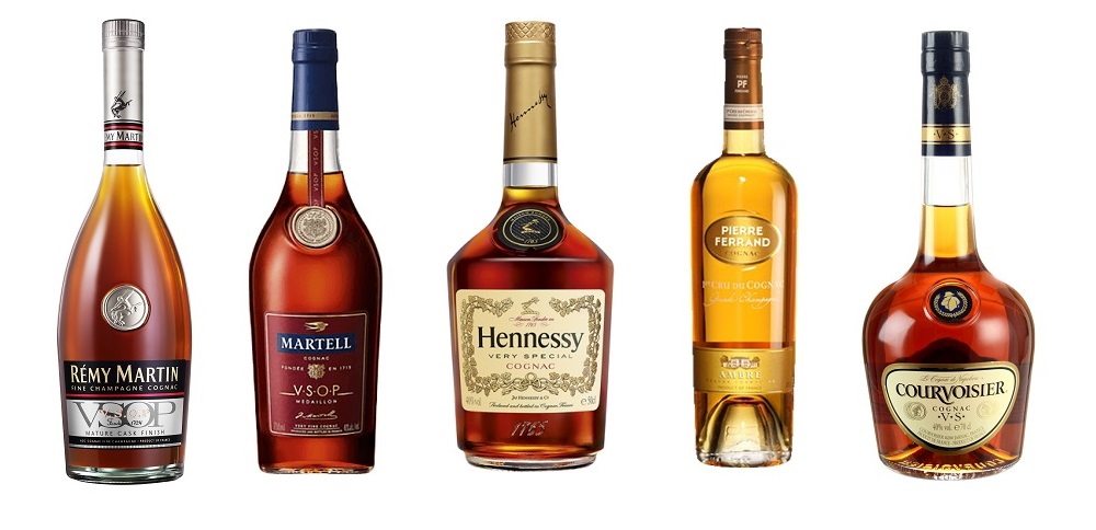 top 5 best selling cognac brands in the world