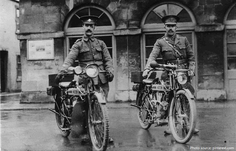 motorcycles first world war