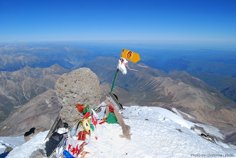 mount elbrus west summit