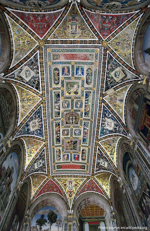 siena cathedral library