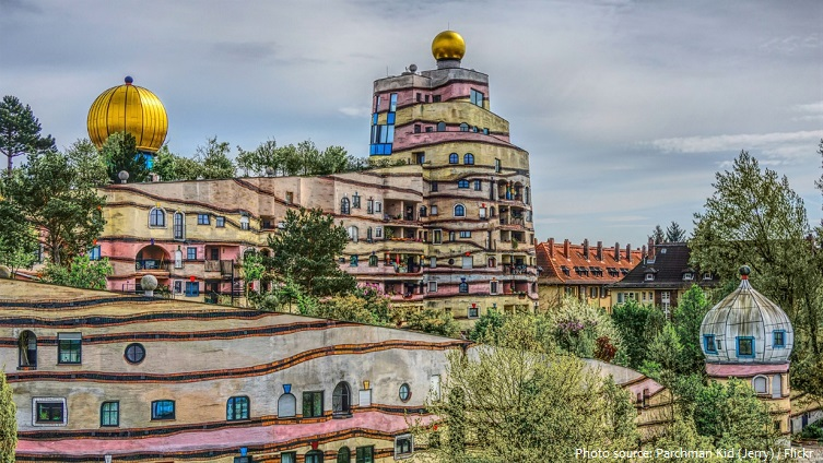 the hundertwasserhaus