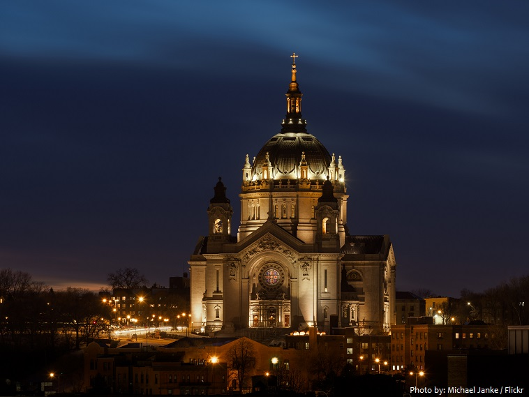 St Paul Cathedral in St Paul