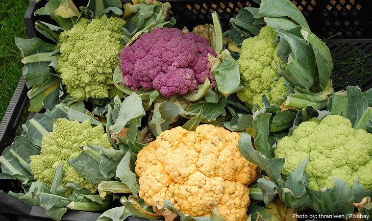 cauliflowers colors