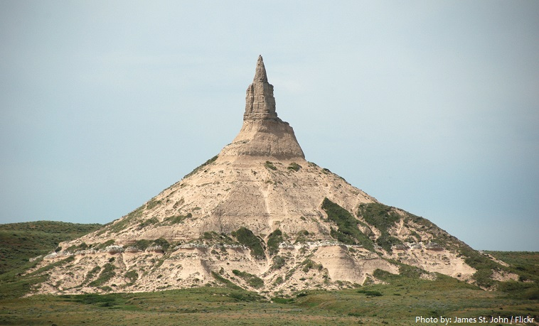 chimney rock formation