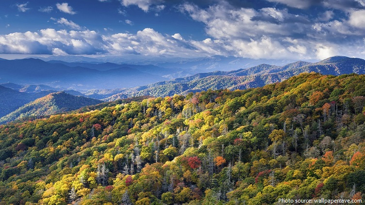 great smoky mountains autumn
