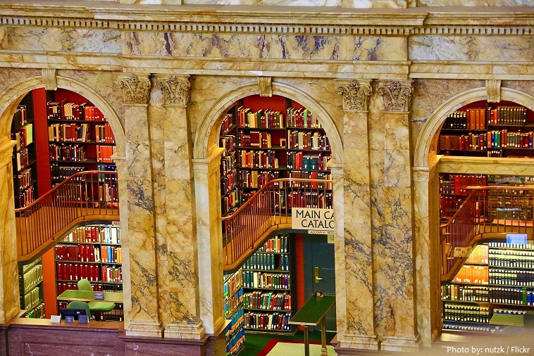 library of congress bookshelves