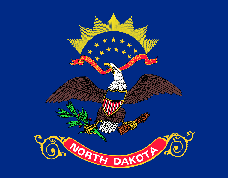north dakota flag