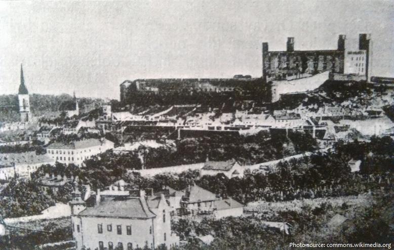 bratislava old photo