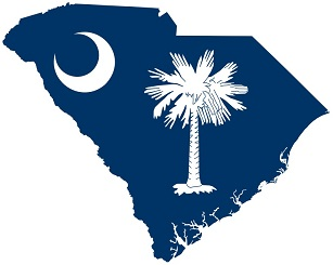 south-carolina-map-flag