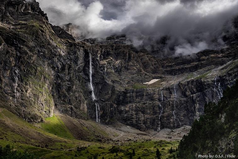 gavarnie waterfall