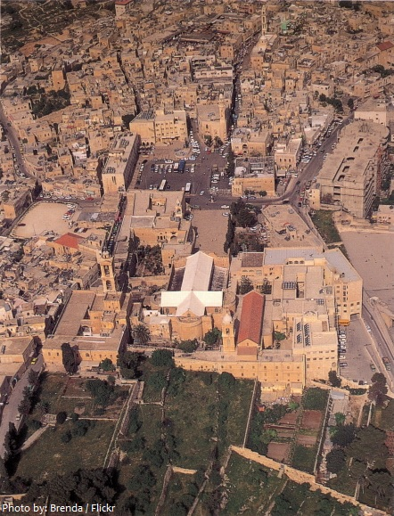 Church of the Nativity aerial