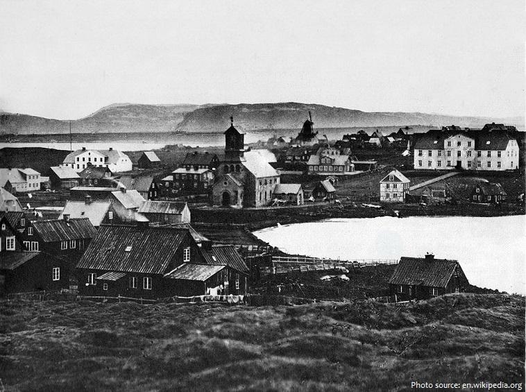 reykjavík old photo