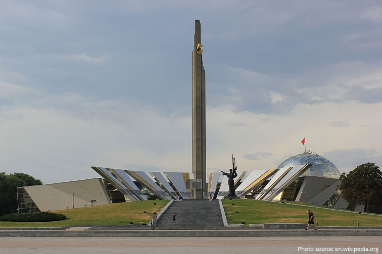 the belarusian great patriotic war museum is a museum