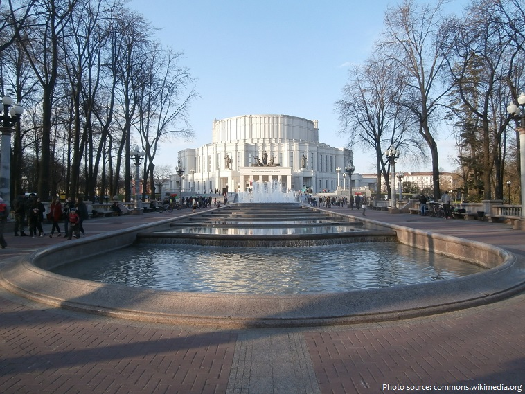 the national academic grand opera and ballet theatre of the republic of belarus