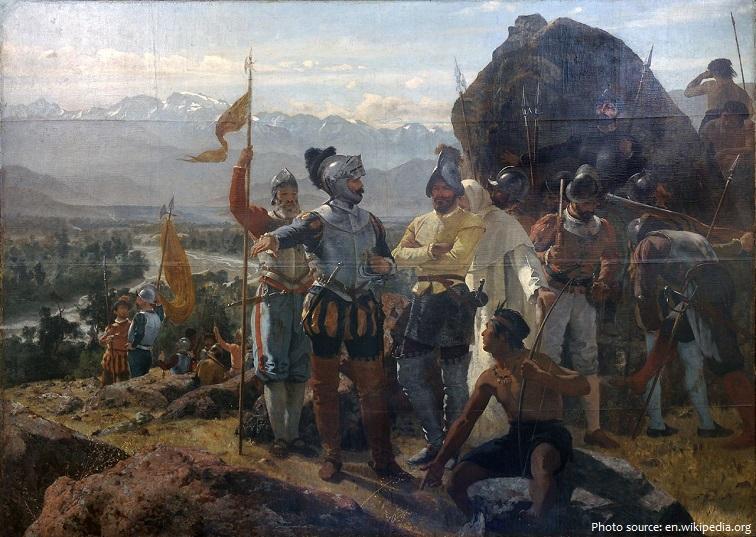1541 founding of santiago