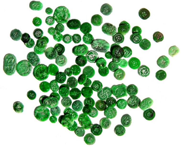 jade buttons