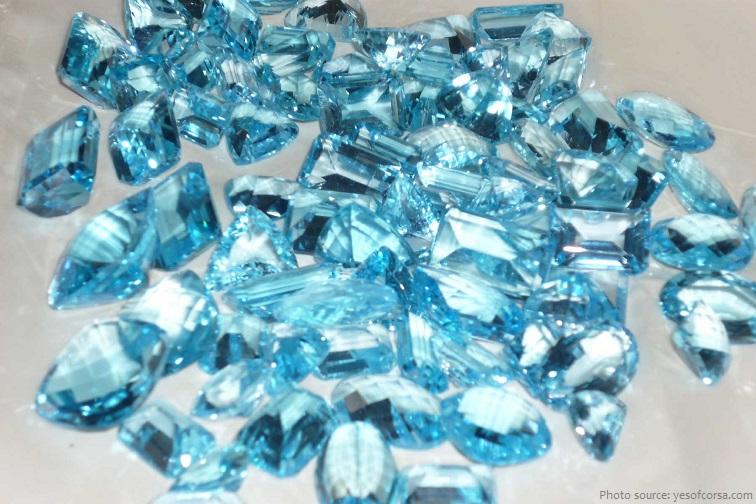 blue topazes