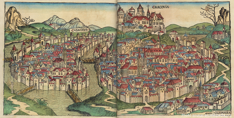 krakow history