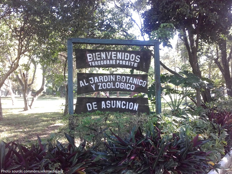 botanical garden and zoo of asunción
