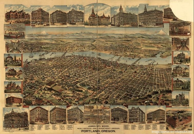 portland in 1890
