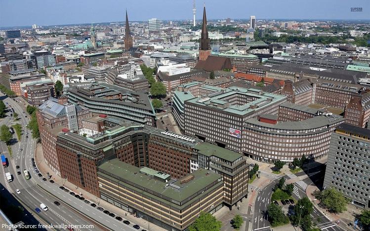 kontorhaus district