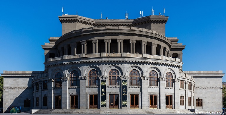 armenian national academic theatre of opera and ballet
