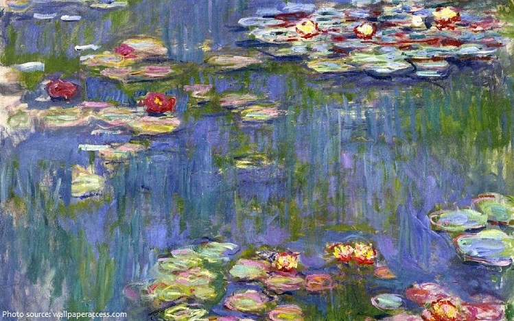 water lilies claude monet