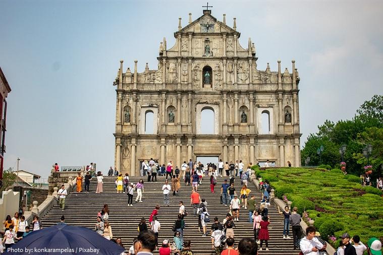 Ruins of Saint Paul's