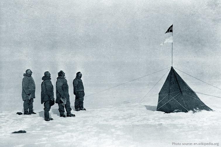 amundsen's south pole expedition