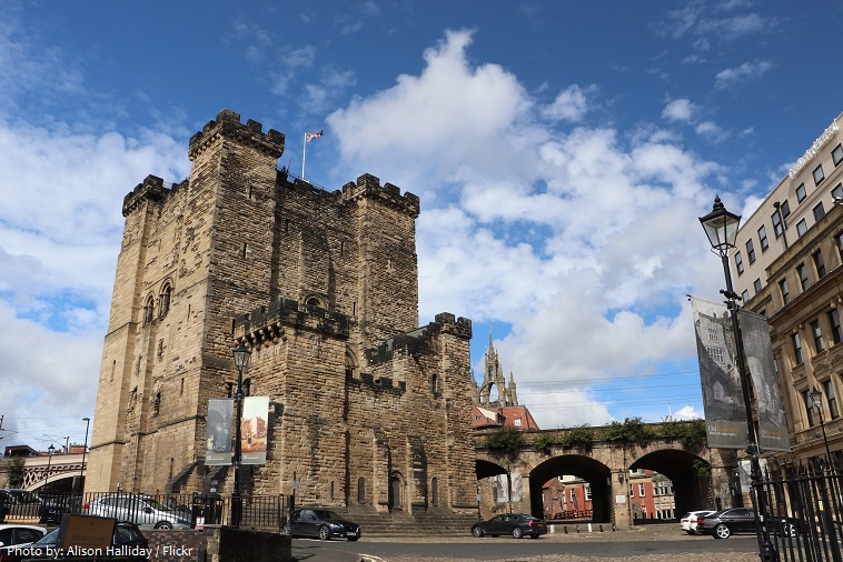 the castle newcastle
